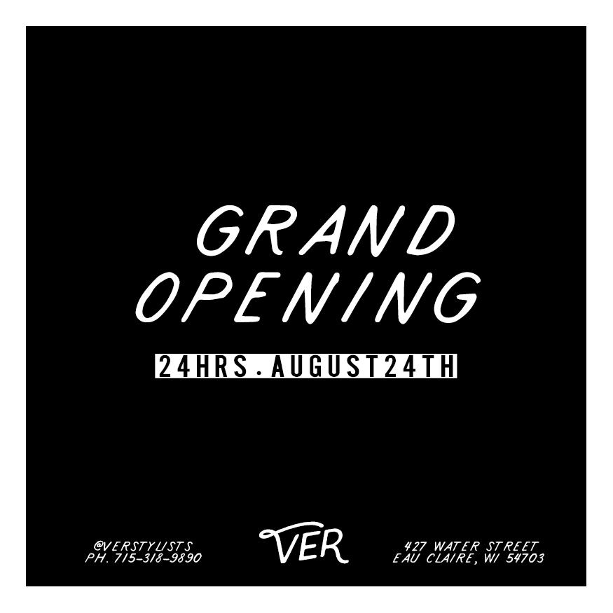 VER Grand Opening Salon Eau Claire